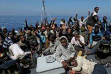 sbarco profughi in italia