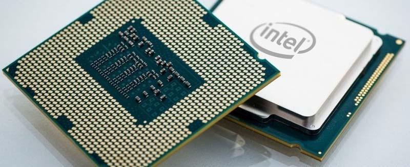 Immagine processore Intel
