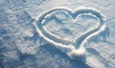 Immagine in evidenza - cuore nella neve