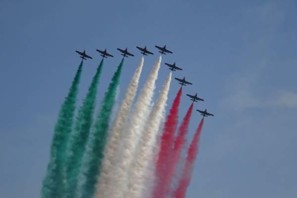 Frecce tricolori a Ladispoli per l'Air Show
