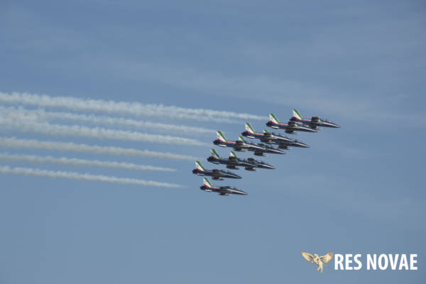 Prove acrobatiche Air Show Ladispoli Frecce Tricolori